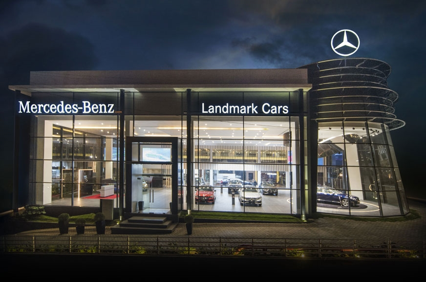 Mercedes benz inaugurates new dealerships and celebrates for Mike schmitz mercedes benz dealership