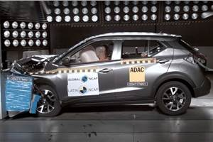 Nissan Kicks awarded four stars in Latin NCAP tests