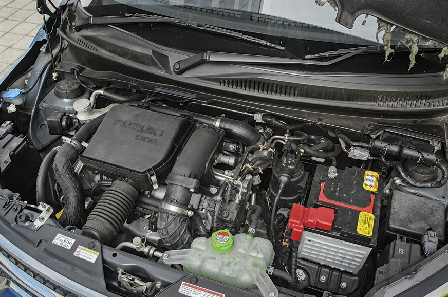 Fiat-sourced engine on the Ignis feels quick thanks to li...