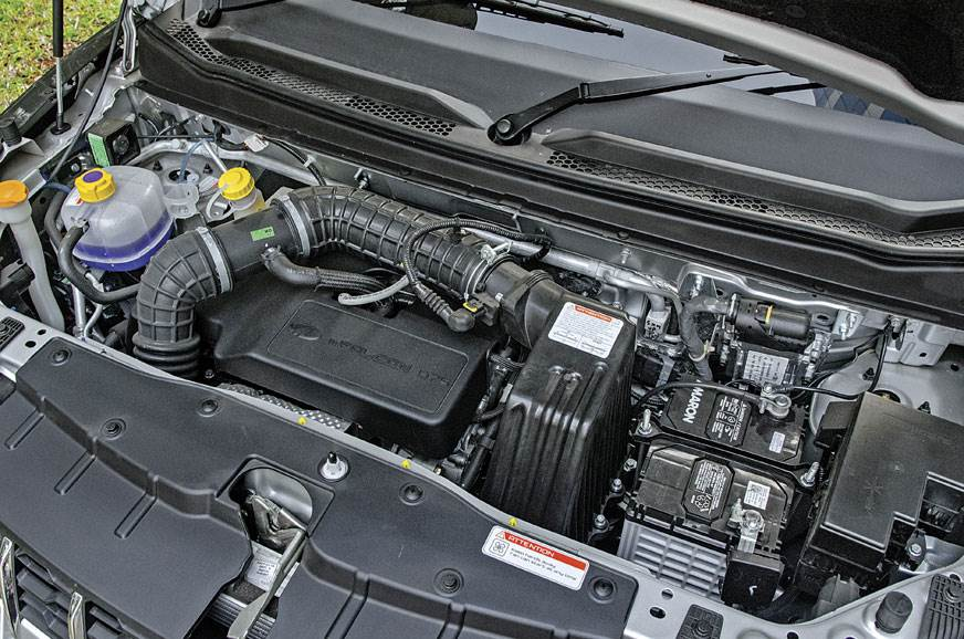The KUV100's 1.2-litre engine is more refined but not as ...