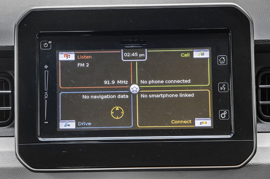 The SmartPlay infotainment system on the Maruti doubles a...