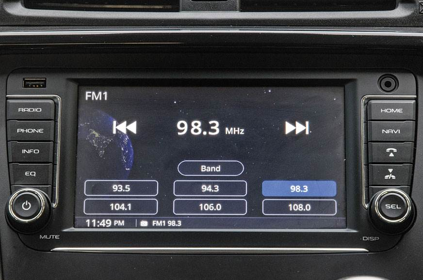 The refreshed KUV100 gets a touchcreen display and naviga...