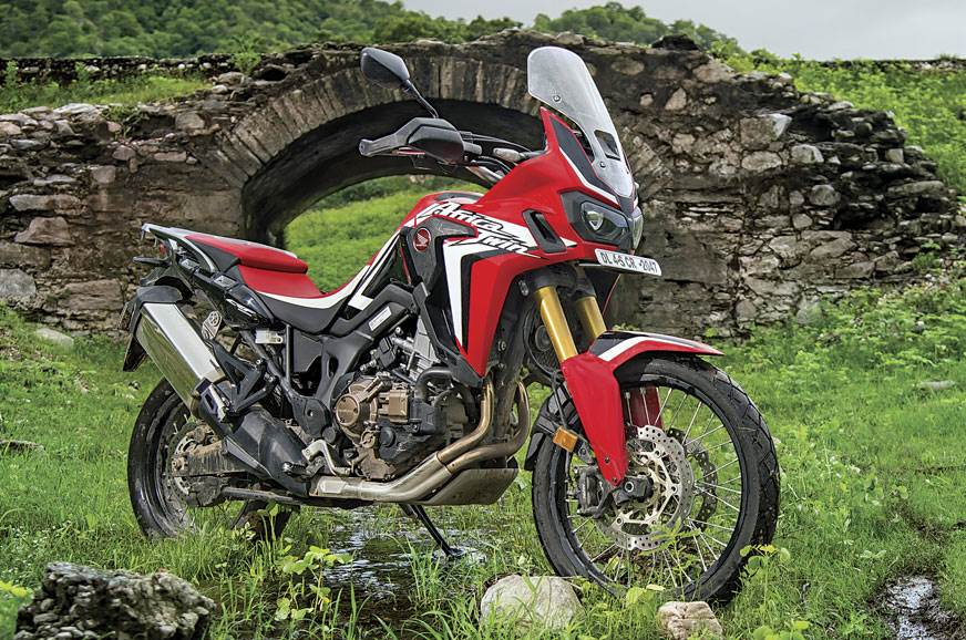 The Honda CRF1000L Africa Twin that was launched recently.