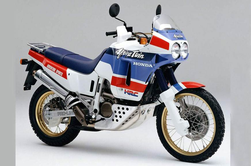 The Honda XRV650: the original Africa Twin.