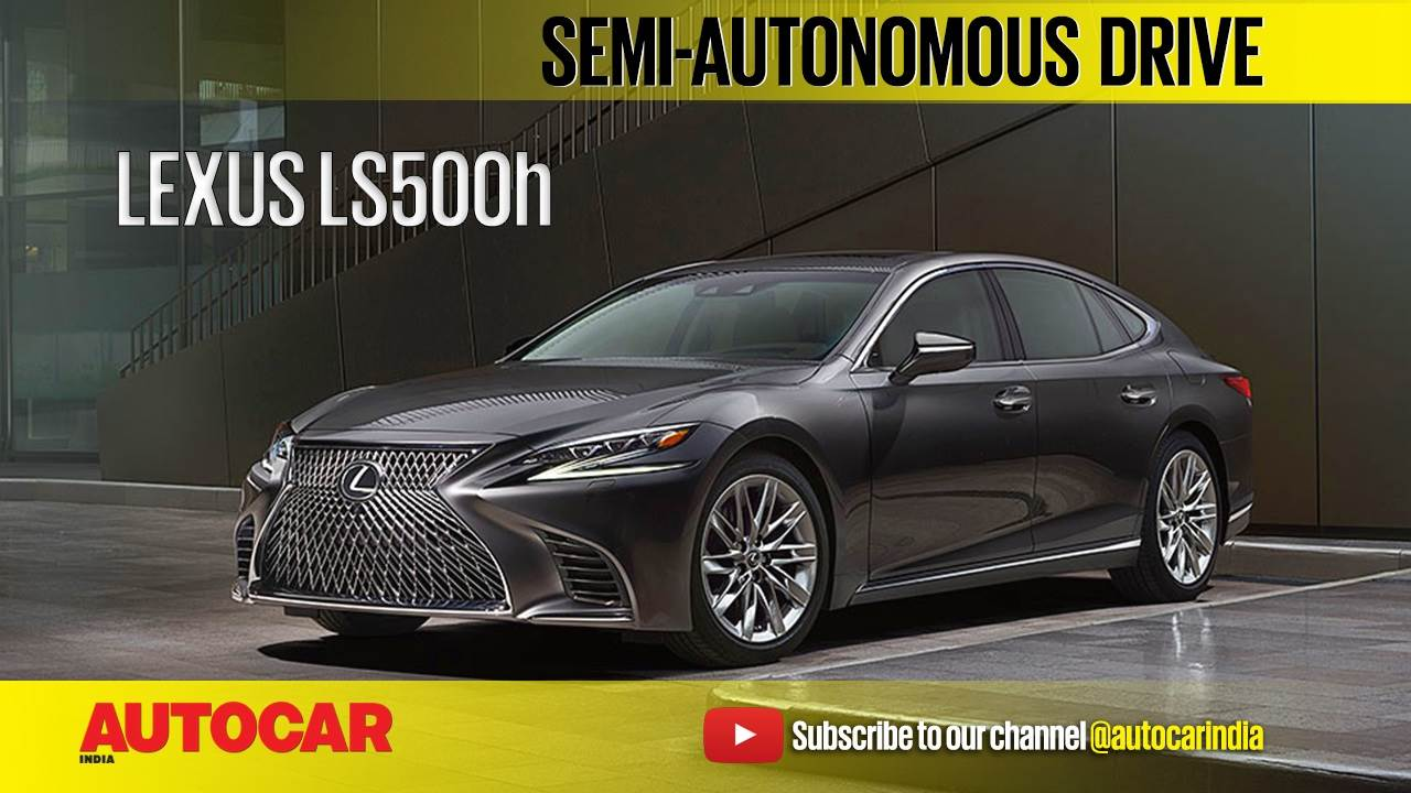 2017 Lexus LS 500h review video