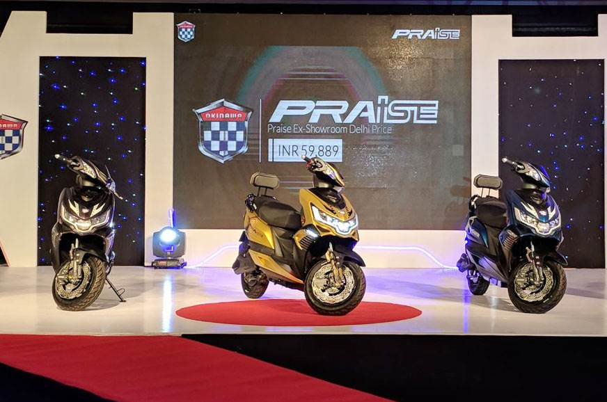 Okinawa Praise e-scooter launched at Rs 59,889
