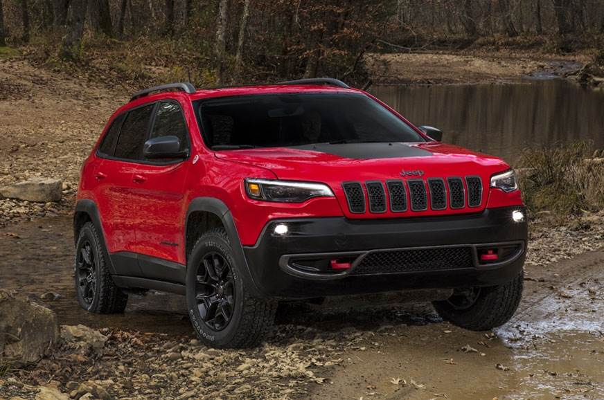 Jeep Cherokee facelift revealed ahead of Detroit debut