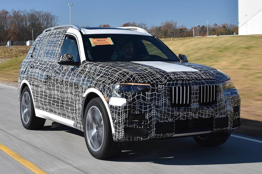 Bmw X7 To Be Unveiled By End 2018 Could Come To India