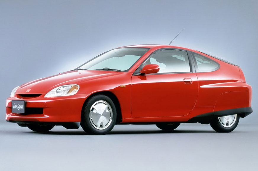 The first-generation Honda Insight was introduced in 1999.