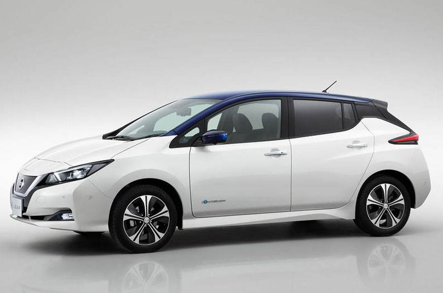 The standard Nissan Leaf.