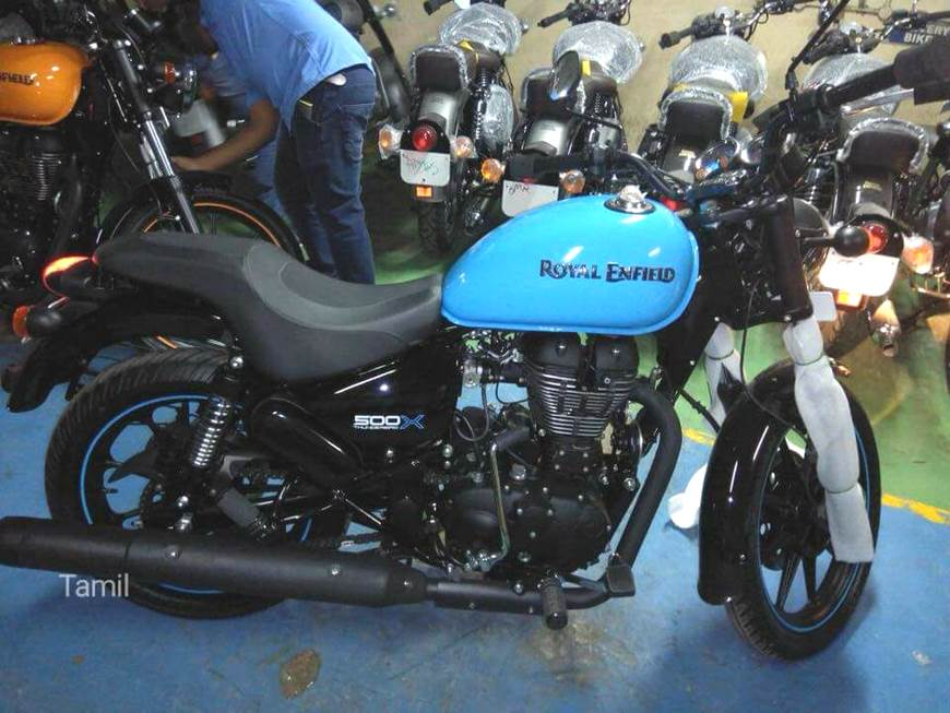 New Royal Enfield Thunderbird 500X spied