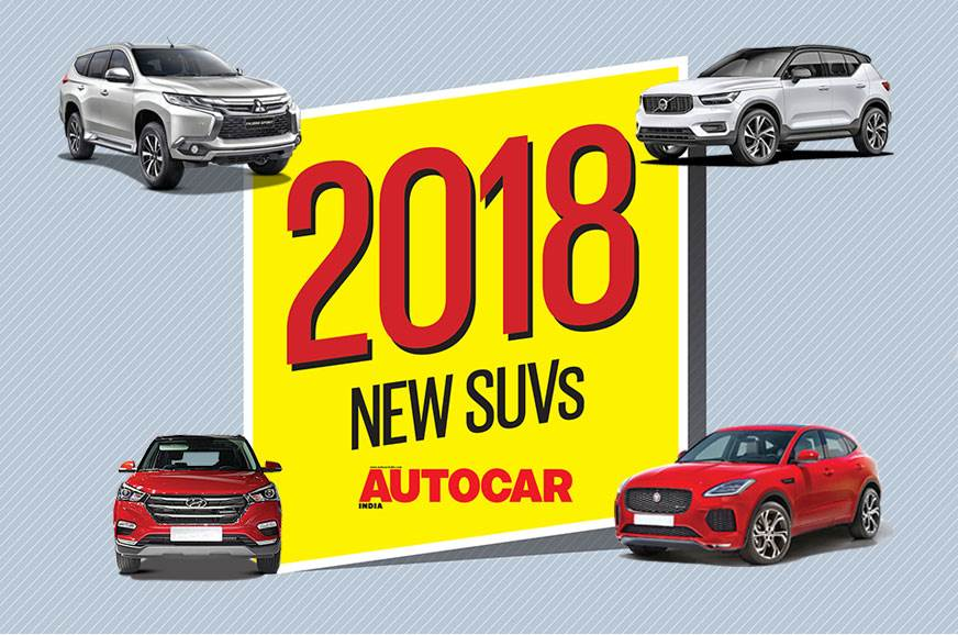 New cars for 2018: Upcoming SUVs