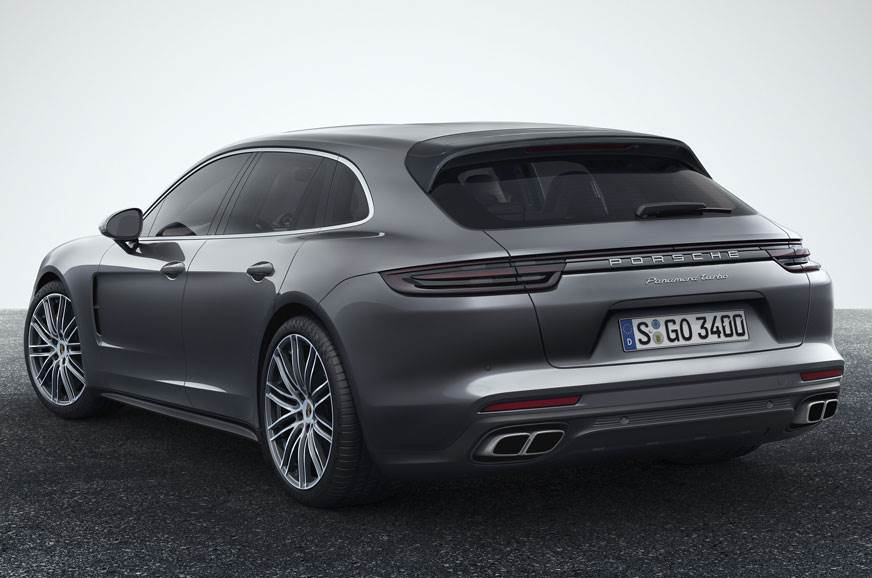 The Porsche Panamera Turbo Sport Turismo.
