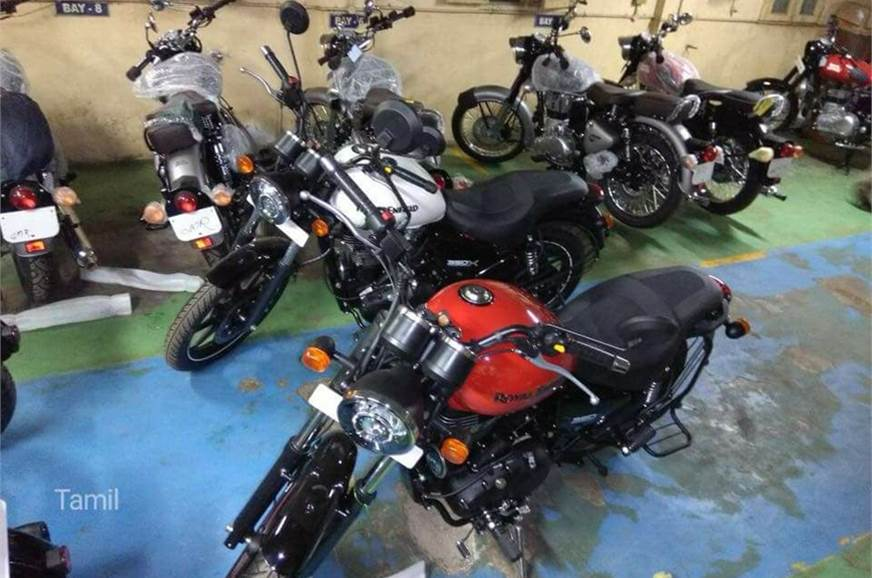 Royal Enfield Thunderbird 350X in the works