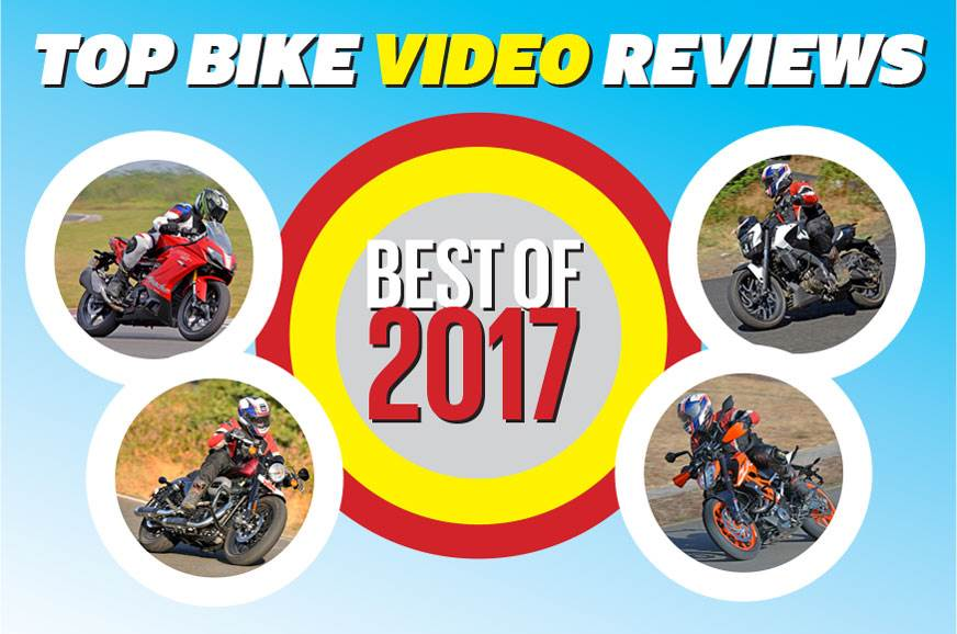Our top 5 bike video reviews of 2017