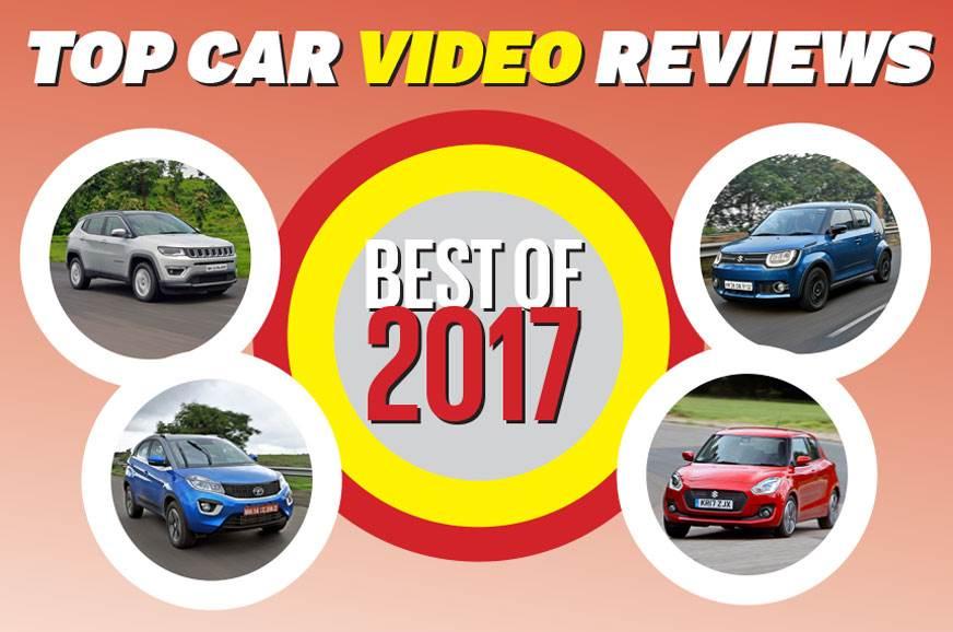 Autocar India's top 5 car video reviews of 2017