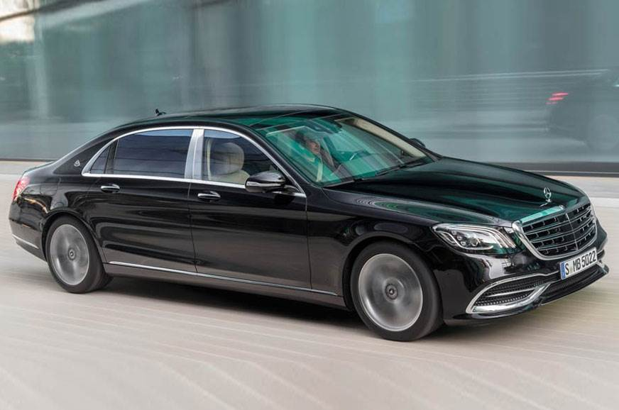 The Mercedes-Benz S-Class Maybach.