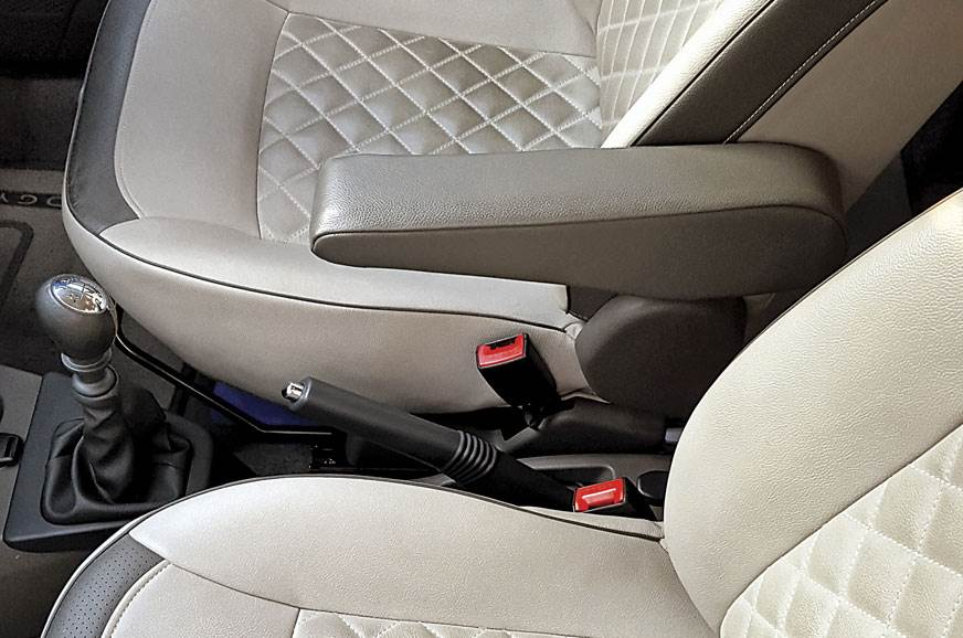 SHOTGUN, NOT: Missing co-driver armrest means few will ca...