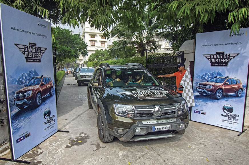The Iconic Passion Drive to Nepal is flagged-off in Lucknow.