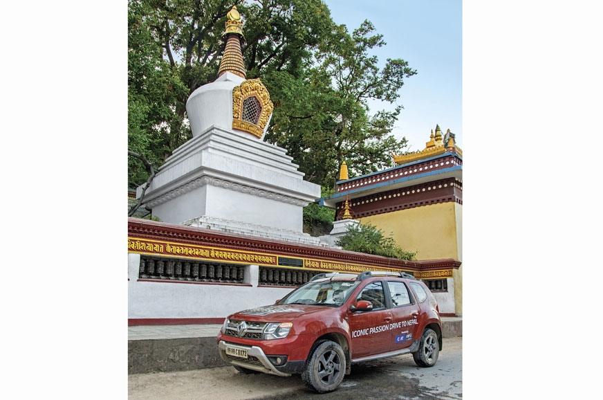 It's hard to go about Nepal without encountering stupas a...