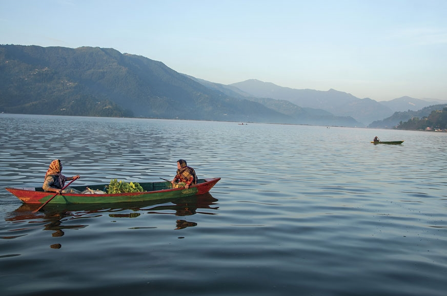 The Phewa Lake in Pokhara is a defining feature of its ge...