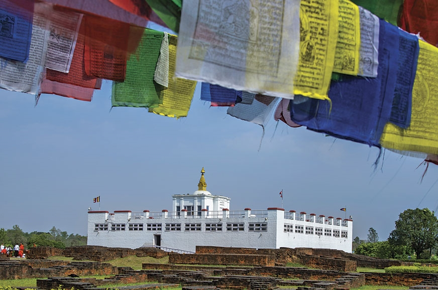 The Mayadevi Temple in Lumbini is hailed as the birthplac...