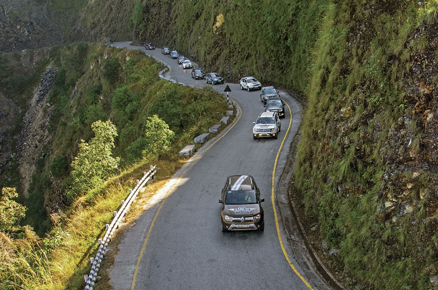 Nothing could stop the convoy of 25 Dusters – not even th...