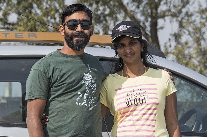 Nithin and Madhubala were on their honeymoon.