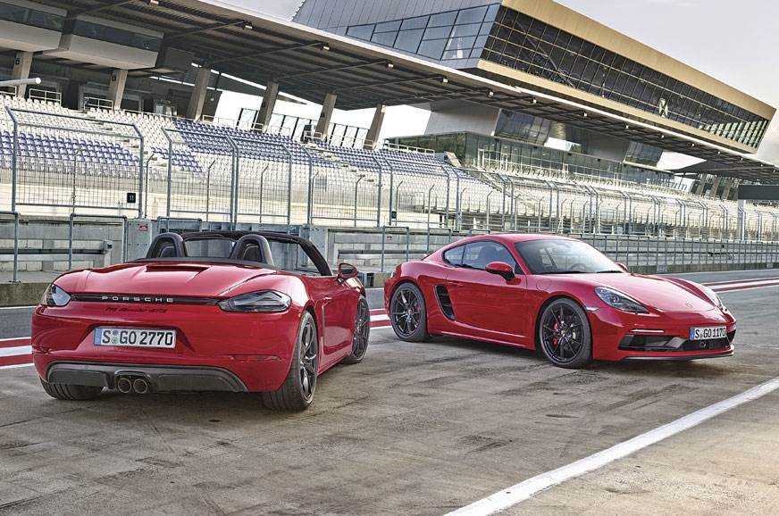 Porsche 718 Boxster/Cayman GTS ruled out for India