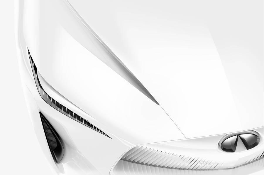 Infiniti prepares EV concept for Detroit motor show