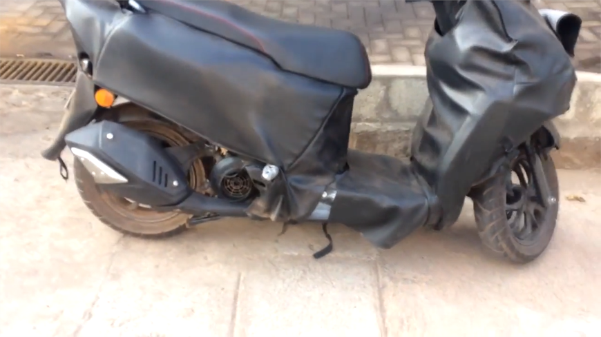 New TVS 125cc scooter spotted testing again