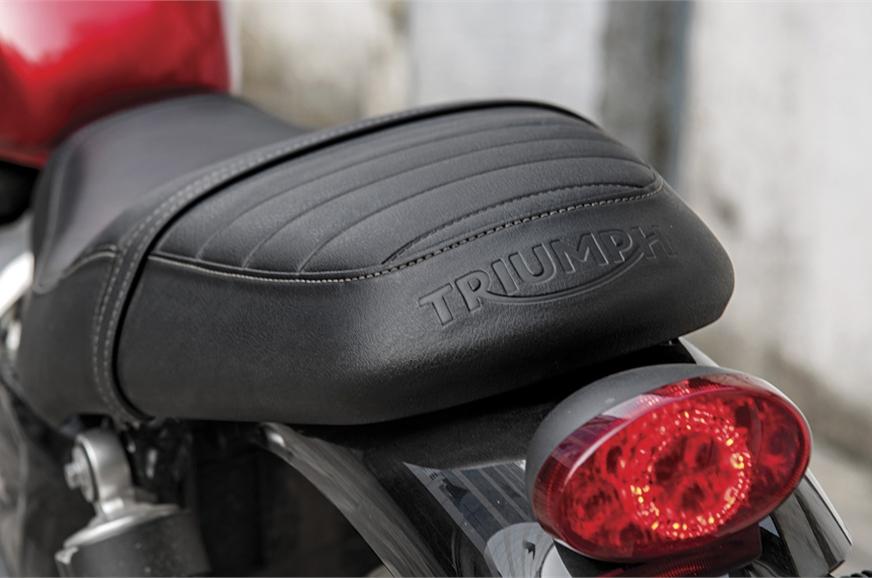 BACK-BURNER: Seat uncomfortable on longer rides.