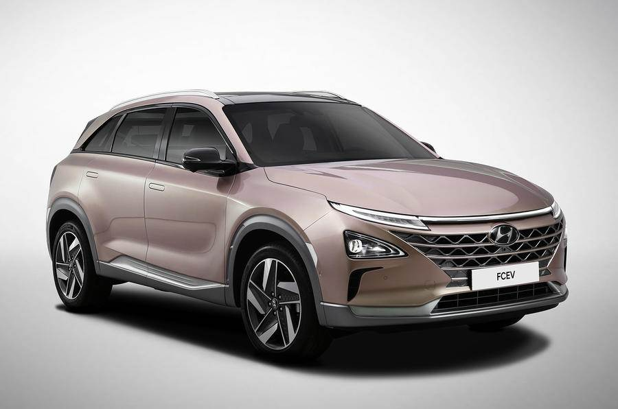 Hyundai unveils new hydrogen fuel cell SUV