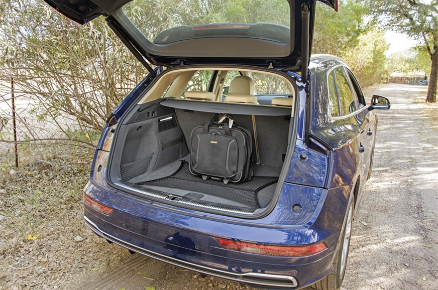550-litre boot is big and well-shaped; seats split-fold i...