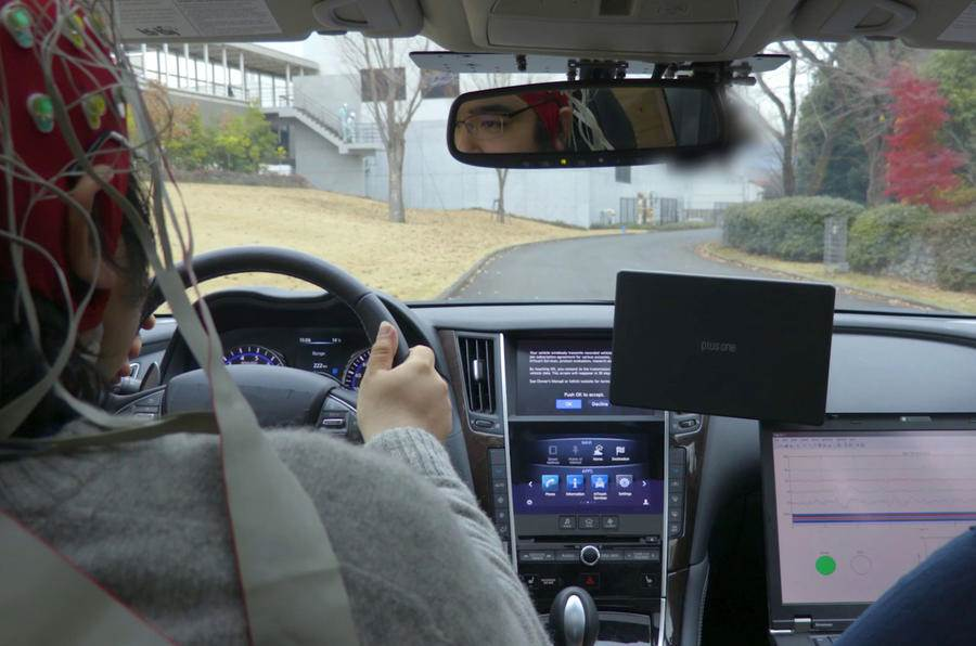 Nissan's brain-to-vehicle technology will aim to enhance the driving experience