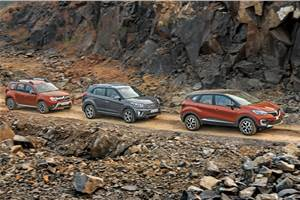 Renault Captur vs Creta vs Duster comparison