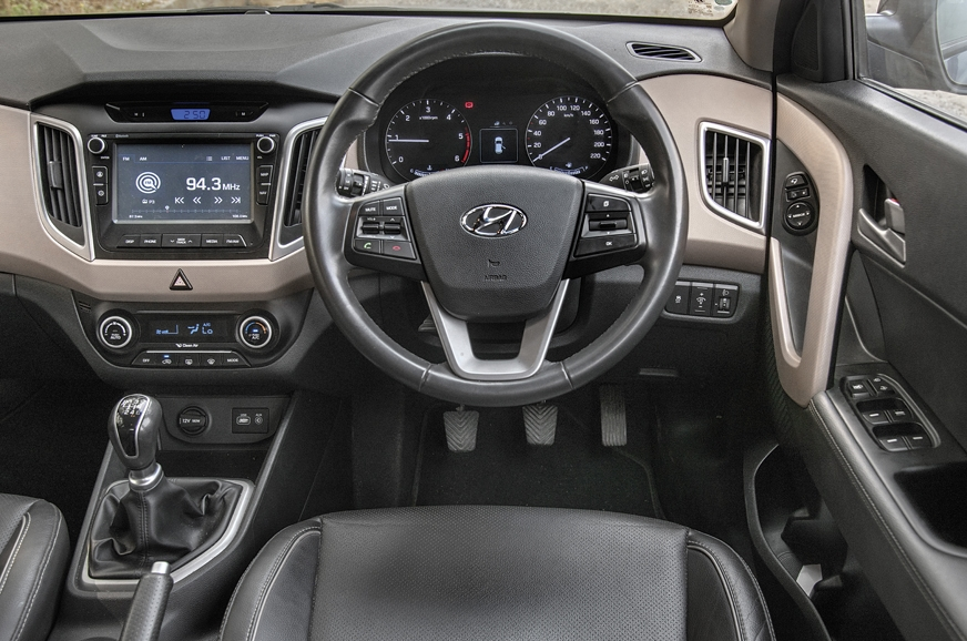 The Creta's dash is well laid-out and user friendly, and ...