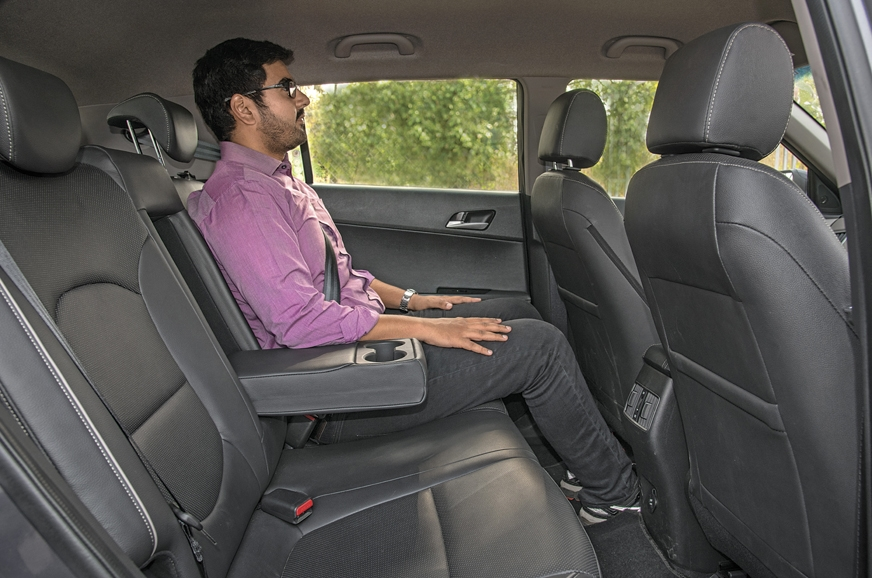 Creta cabin is easily the most spacious. Rear seat is bes...