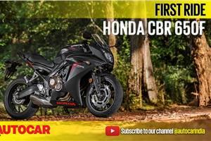 2017 Honda CBR 650F video review