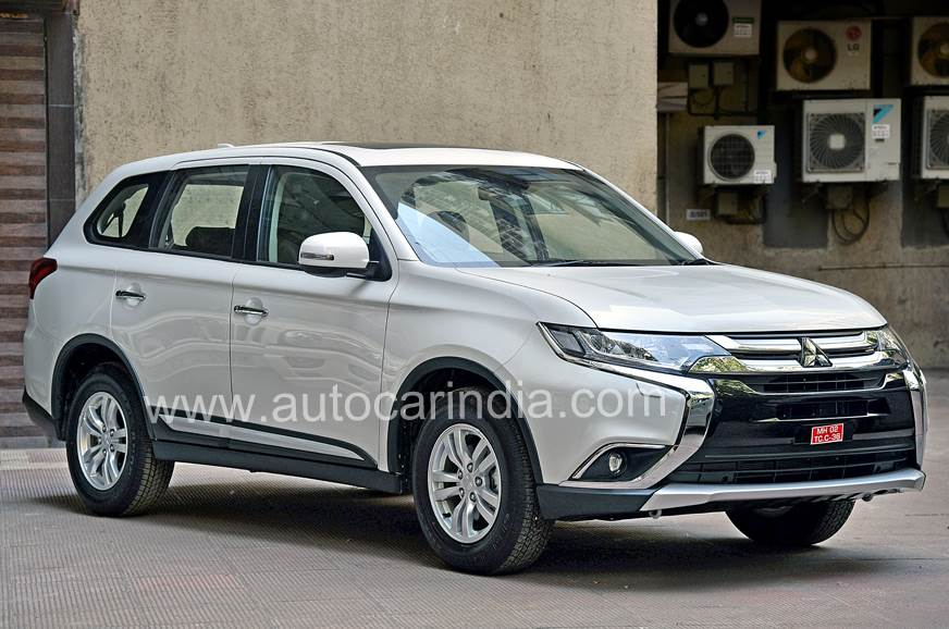 Mitsubishi's new Outlander is expected soon.