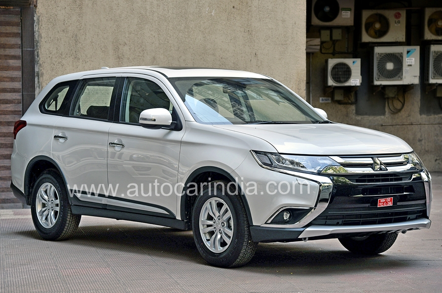 Mitsubishi's new Outlander is expected in April.