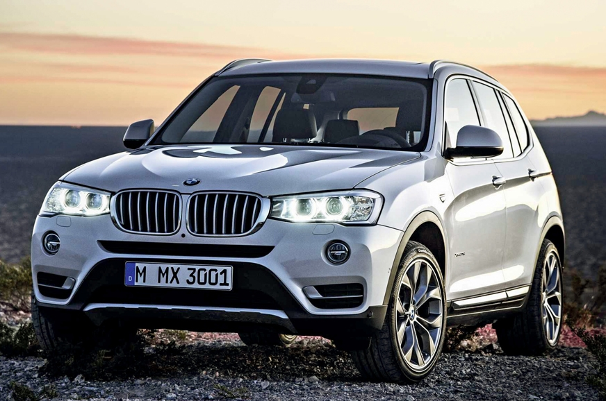The second-gen BMW X3 currently on sale in India.
