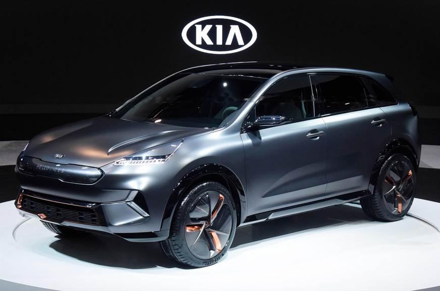 Kia Niro EV Concept showcased at CES