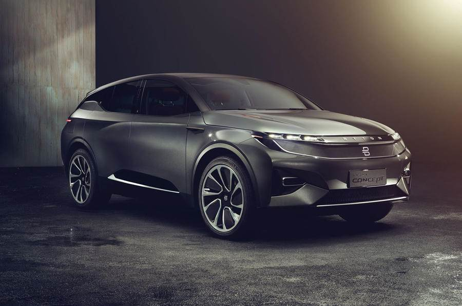 Chinese start-up Byton unveils full-electric Concept SUV