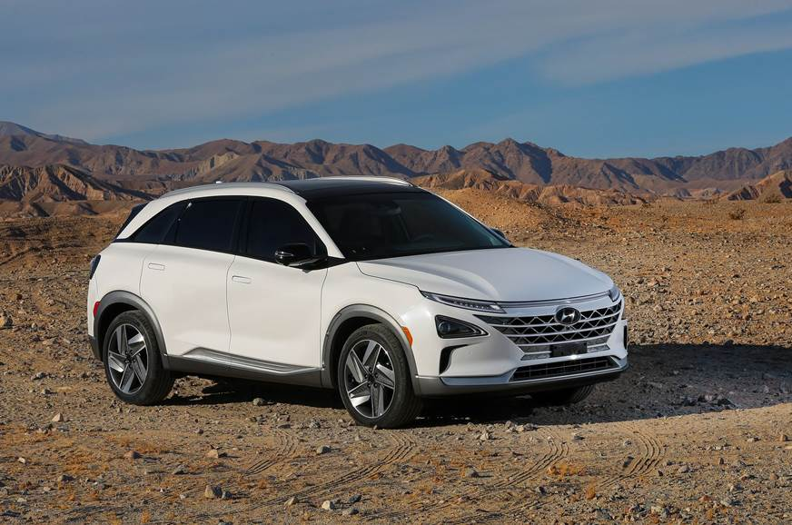 Hyundai's fuel cell-based Nexo SUV revealed at CES