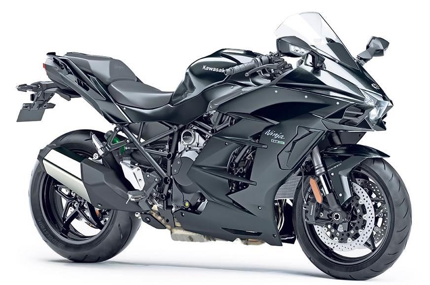 Kawasaki's Ninja H2 SX.