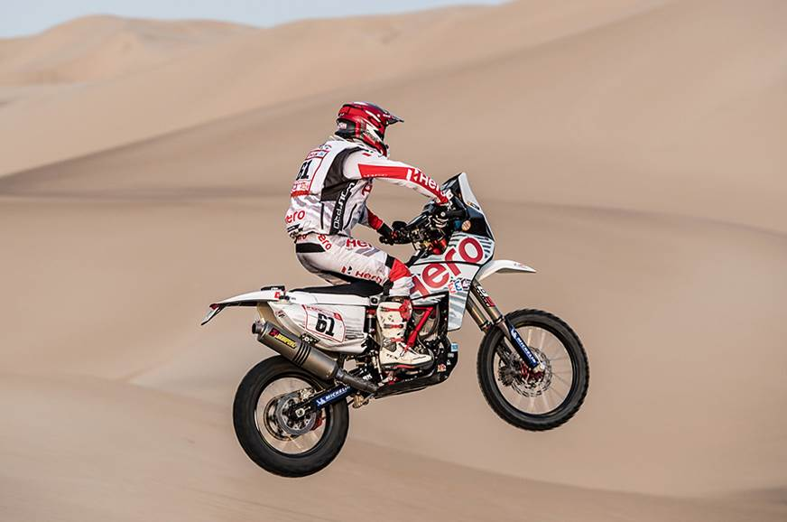 Dakar 2018 Stage 3: TVS on solid ground; bittersweet day for Hero