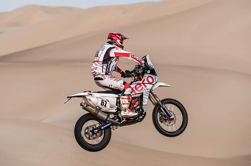 This is Oriol Mena's Dakar debut.