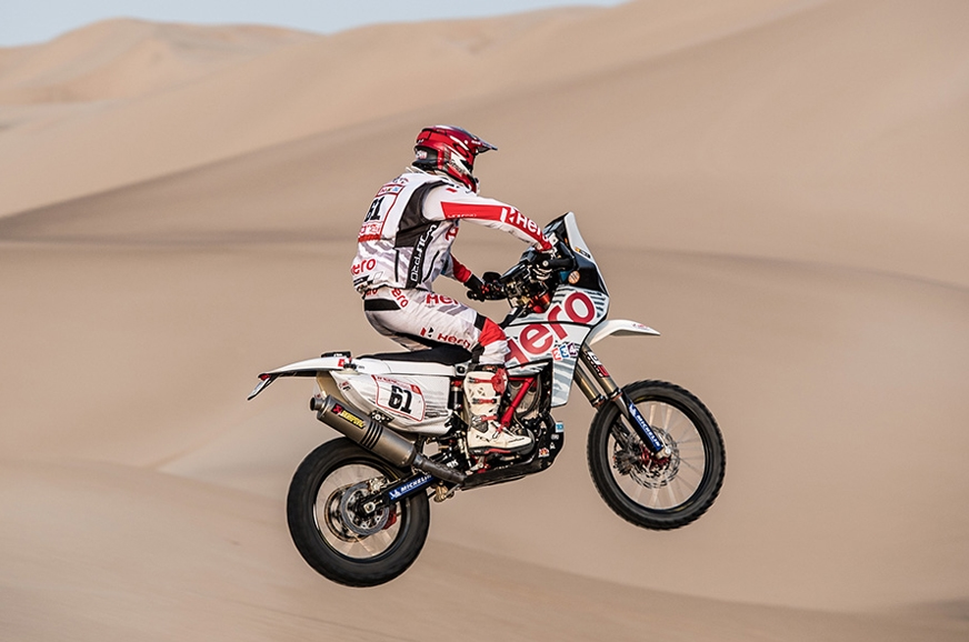This is Oriol Mena's Dakar debut.