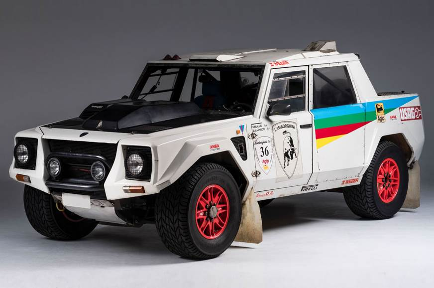Unveiled in 1986, the 'Rambo Lambo' borrowed the Countach...